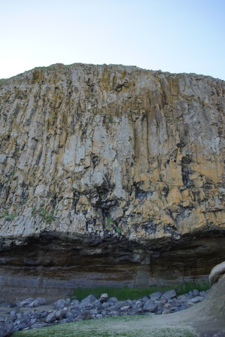 Awesome cliff.