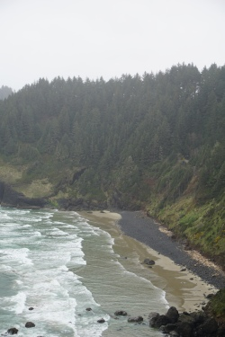 Another view of the beach from the same overlook.