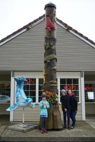 I love the totem pole.